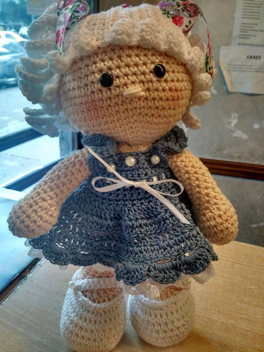 Amigurumis Crochet Muñeca - $ 400,00 en Mercado Libre