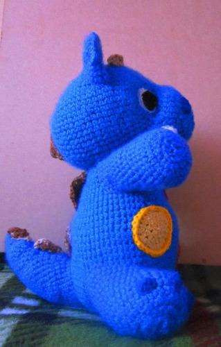 amigurumis dinosaurio bebe