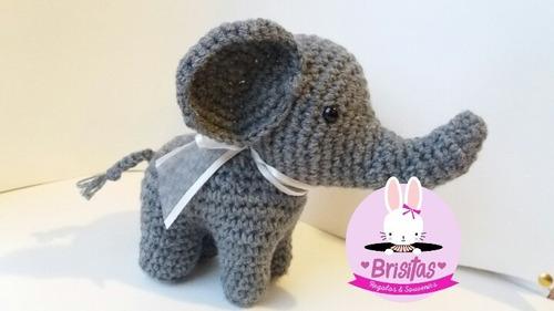amigurumis: elefantitos para regalos o souvenirs