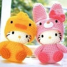 amigurumis hello kitty