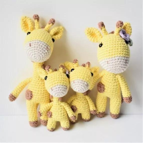 Jirafa amigurumi tejida crochet 🥇   Posot Class   570x570