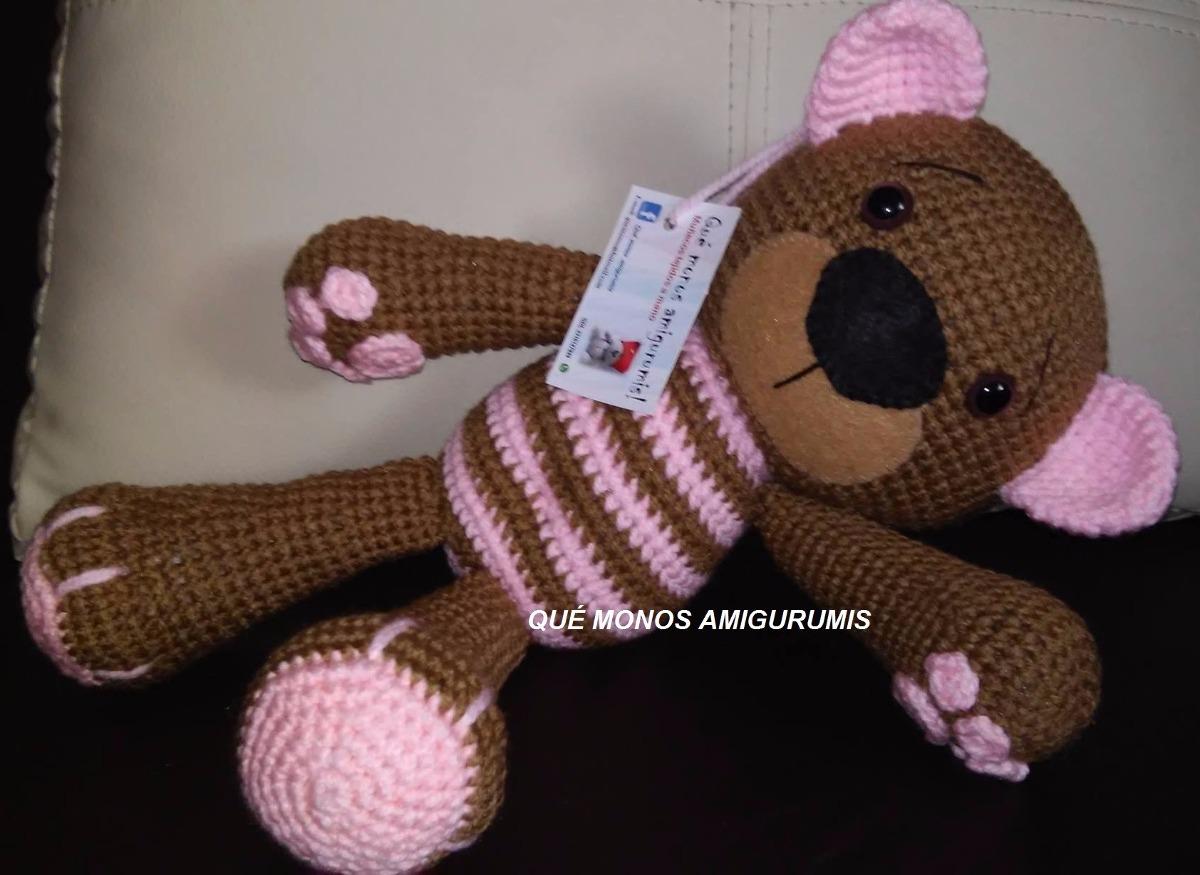 Atractivo Del Patrón Del Mono De Crochet Libre Viñeta - Ideas de ...