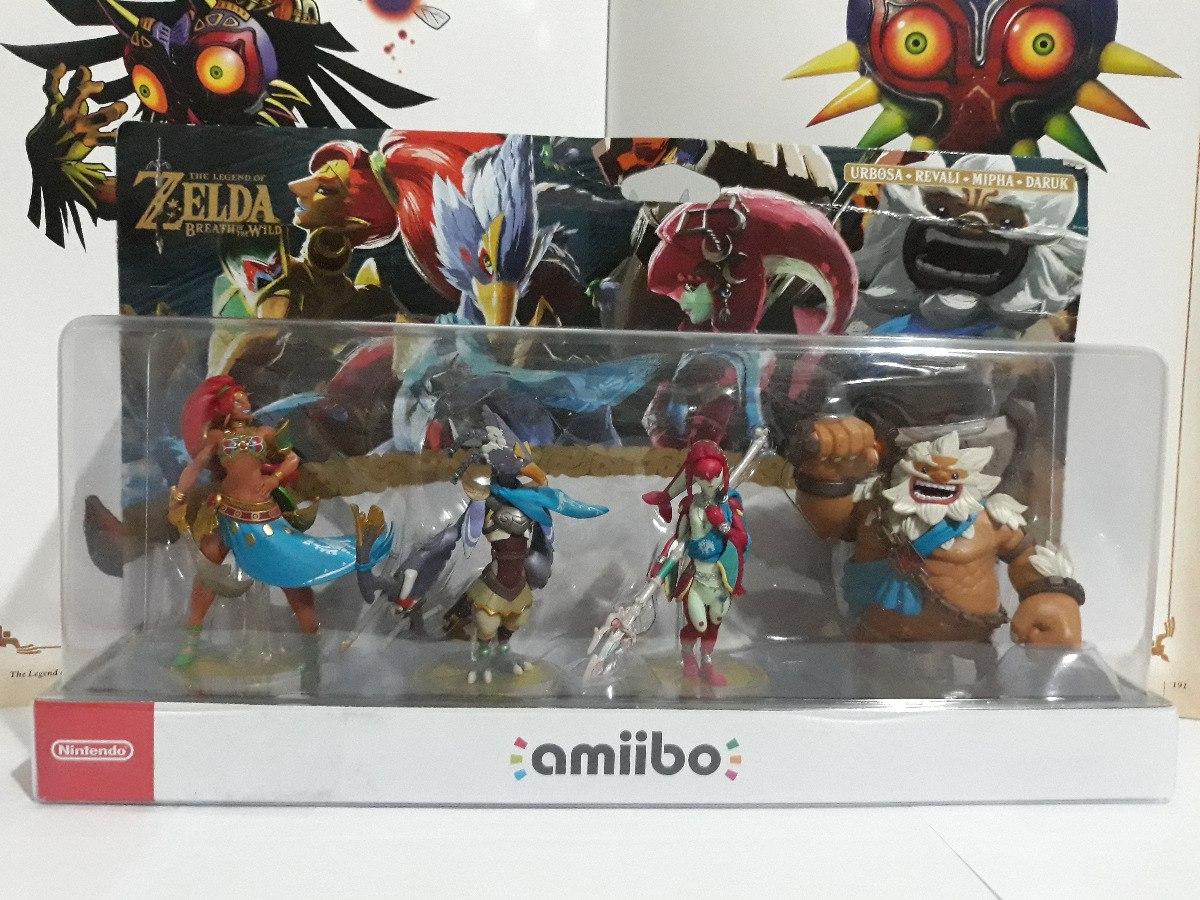 Amiibo Champions Zelda Mipha Daruk Urbosa Revali Champion