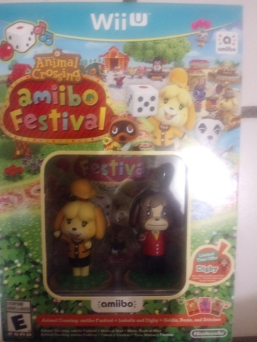 amiibo festival animal crossing wii u