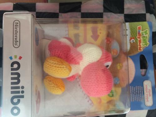 amiibo nuevo rosa yoshi wii u envío gratis sellado