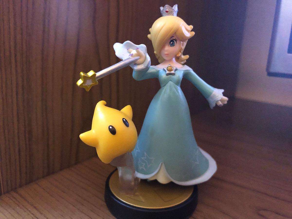 Amiibo Rosalina & Luma Super Smash Bros Swich Wii U 3ds ...