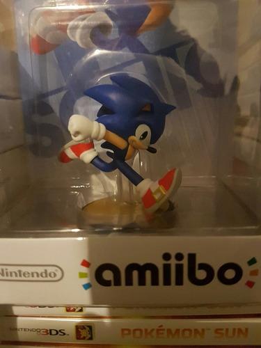 amiibo sonic nuevo sellado!!!