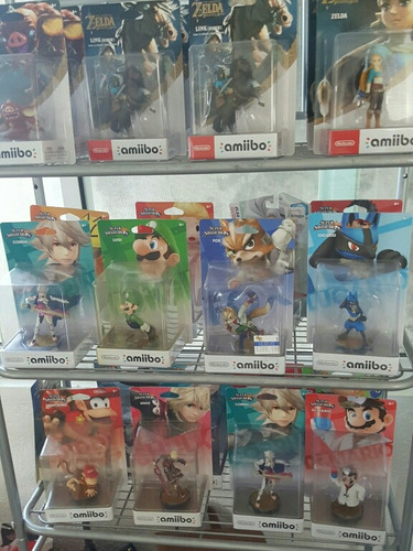 amiibos nintendo super smash bros