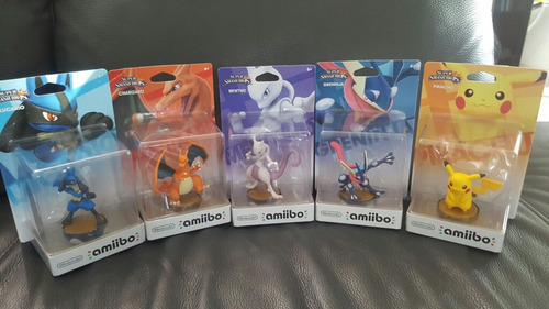 amiibos super smash bros ( pokemon)