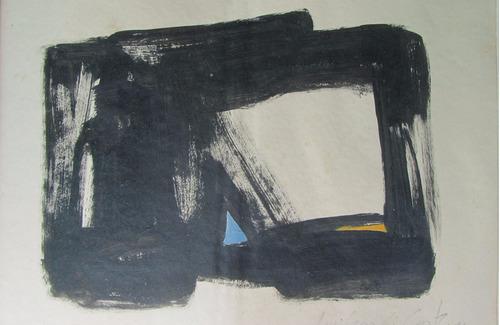 amilcar de castro - acrílico sobre papel/1990