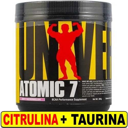 amino atomic 7 universal 1k bcaa glutamina citrulina taurina