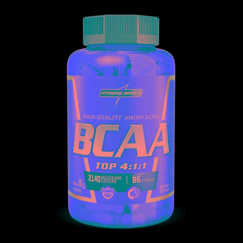 e3e1123ab amino bcaa top 4 1 1 (120 caps) integralmédica - bc00007. Carregando zoom.