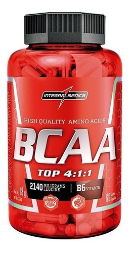 amino bcaa top 4:1:1 (120caps) - integralmédica