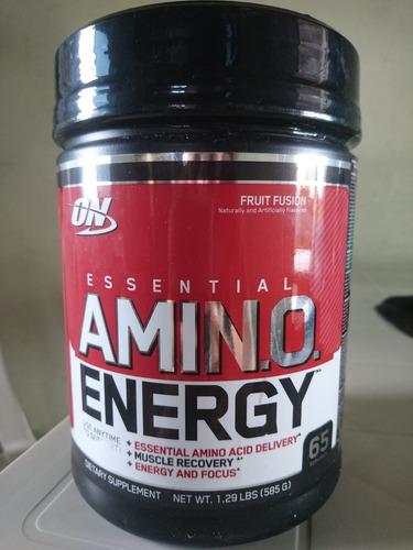 amino energy 65 servicios bcaa, pre y post entreno on 585g.