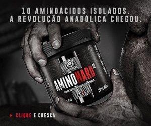 6f46cd393 Amino Hard 10 200g - Integralmedica Lançamento - R  122