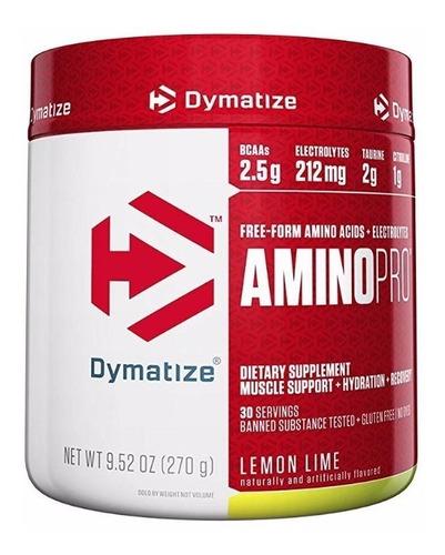 amino pro fruit punch 270 grs dymatize 30 servicios