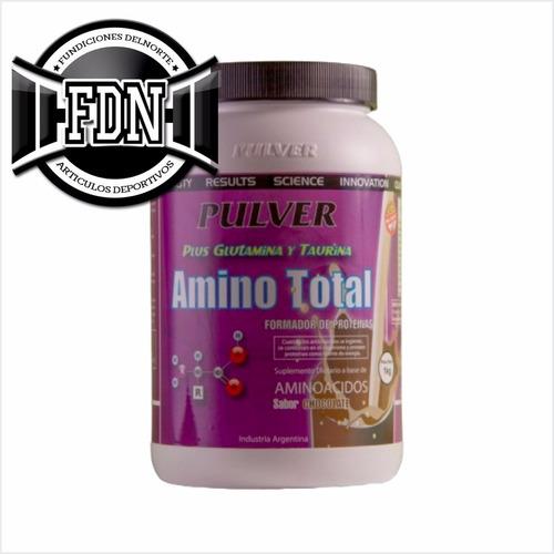 amino total pulver 1 kg aminoacidos con taurina glutamina