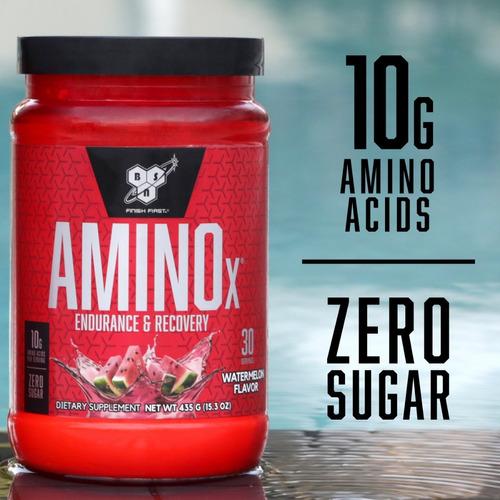 amino x 30 servicios bsn aminoacidos ramificados bcaa polvo