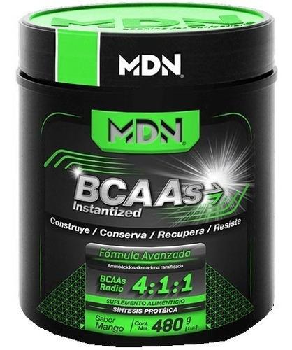 aminoacido mdn bcaas instantized (40 serv) sabor mango