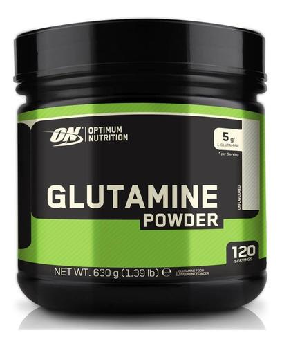 aminoacido optimum nutrition glutamine powder 600 gr
