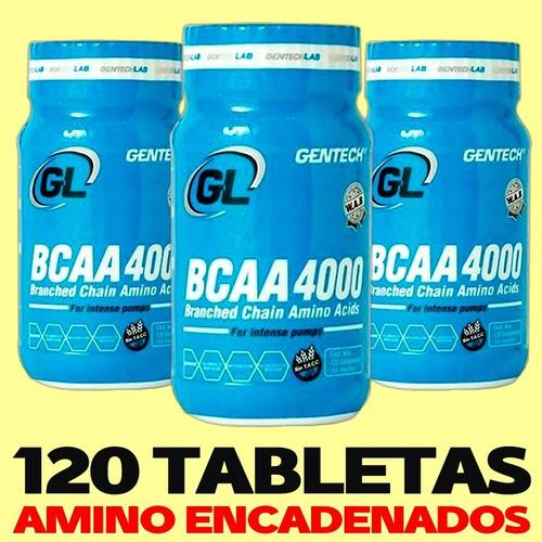 aminoacidos becca 4000 por 120 comprimidos gentech