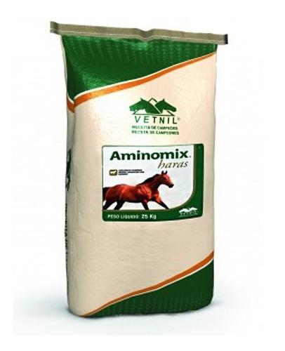aminomix haras 25kg - suplemento equinos - vetnil - cavalos