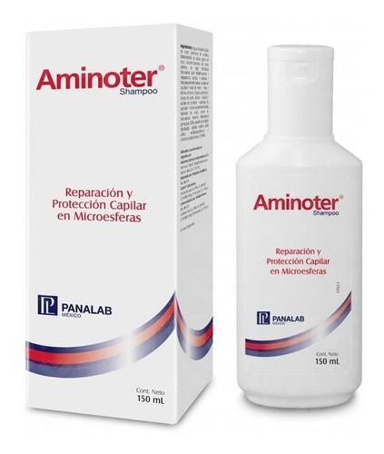 aminoter shampoo protección y reparación capilar
