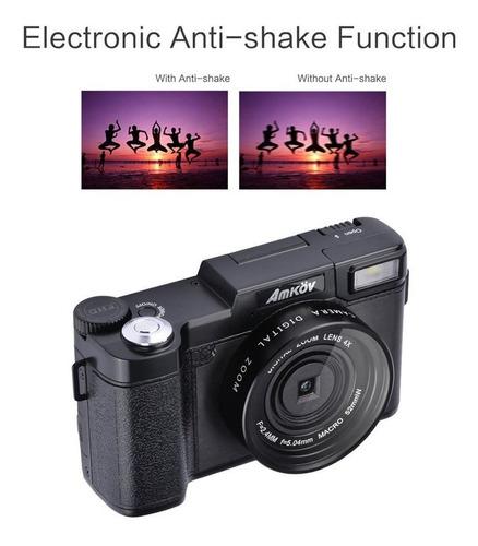 amkov amk-r2 24mp 1080 p 3.0 pantalla lcd giratoria cámara r