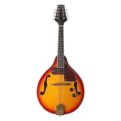 ammoon 8-string electric a mandolina estilo mandala rosewoo