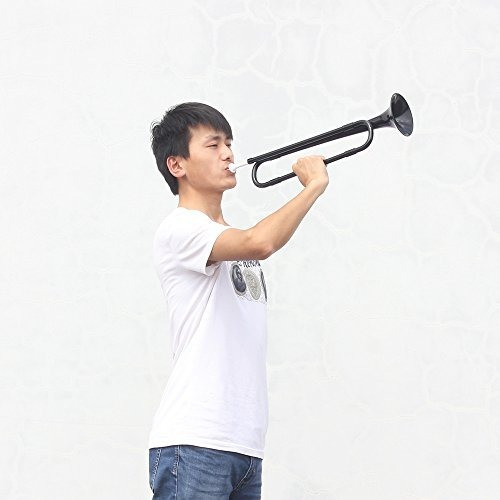 ammoon b flat bugle cavalry trompeta plástico ecológico con