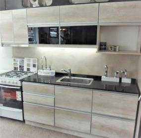 Mueble De Cocina Canto Aluminio Negro - Todo para Bazar y Cocina en ...