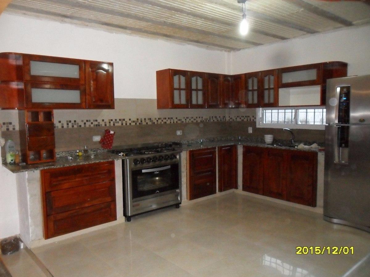 Cocinas lineales de cuatro metros cocina alargada en for Cocina 3x3 metros