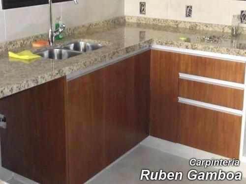 amoblamientos cocinas y ba os carpinter a montevideo