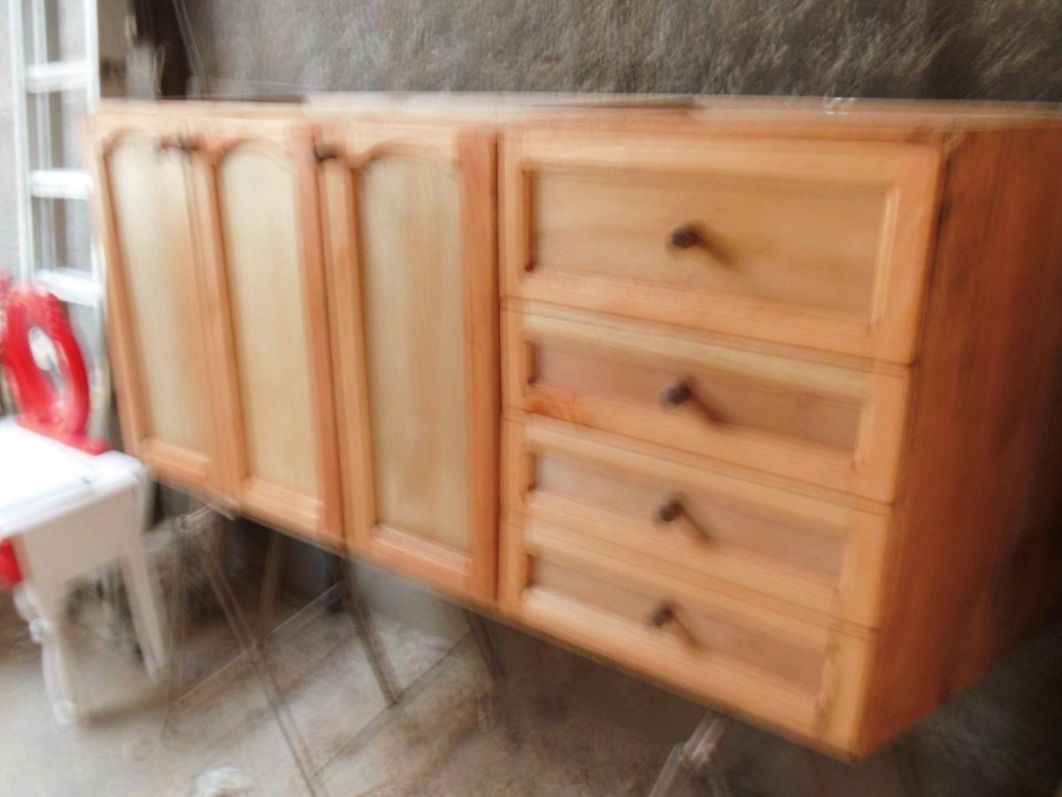 Amoblamientos de cocina a medida en madera maciza 200 - Muebles de cocina madera maciza ...