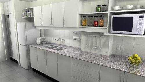 Amoblamientos de cocina muebles de cocina aereos bajo for Fabrica muebles uruguay