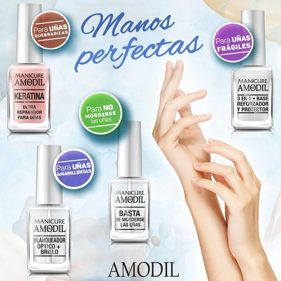 Amodil Manicure Esmalte P Uñas Fortalecedor Con Vitamina F