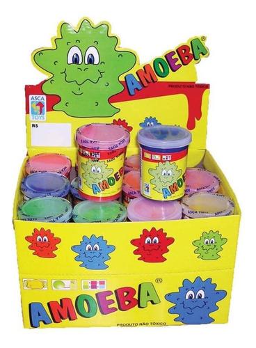 amoeba slime gel modelador infantil c/24