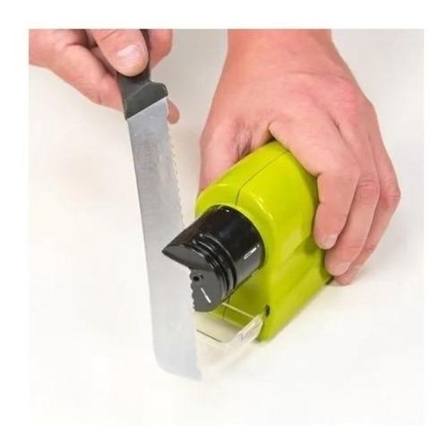 amolador afiador de tesouras e facas swifty sharp à pilha