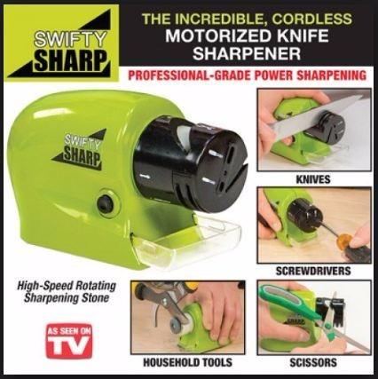 amolador afiador elétrico tesouras facas ferramentas alicate
