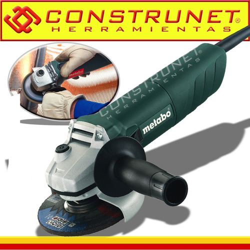 amoladora angular 115 mm 720 w 11000 rpm metabo industrial