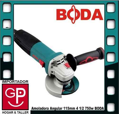 amoladora angular 115mm  750w  g15-115  boda g p