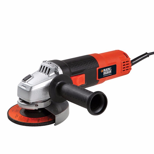 amoladora angular 115mm 800w + disco black decker prof g720