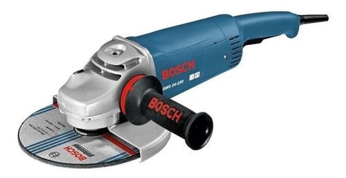 amoladora angular 230 mm 9 pulgadas bosch gws 24-230 2400w