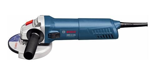 amoladora angular 5 pulg (125mm)  bosch gws 11-125 1100w