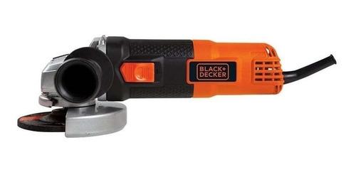 amoladora angular black+decker g720n naranja 220v