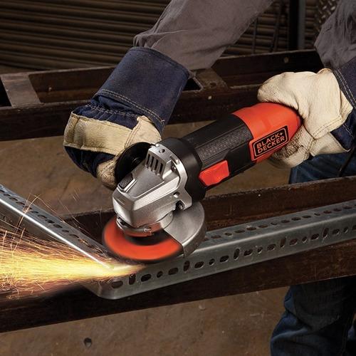 amoladora angular black y decker 4 1/2  115mm 820 w g720n