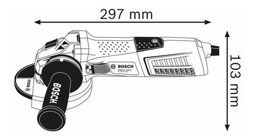 amoladora angular bosch 125mm 5 pulgadas gws 13-125 ci 1300w
