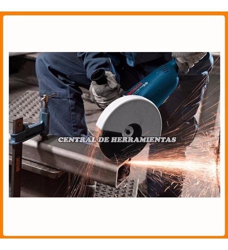 amoladora angular bosch gws 22-180 mm 2200w 7 pulgadas grande - antipolvo hierro concreto hormigon pared metal obra