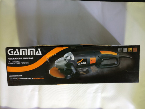 amoladora angular gamma 180 mm 2050 watts