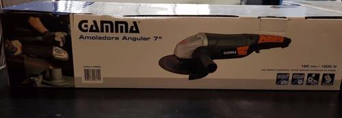 amoladora angular gamma 180mm 7mm 1800w hg053